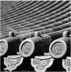 IVON Chinese architecture shaolin temple roof tiles chinese traditional roof tile for sale