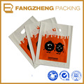 plastic polybags factory/LDPE or HDPE Material shopping die cut bags/Punch Style
