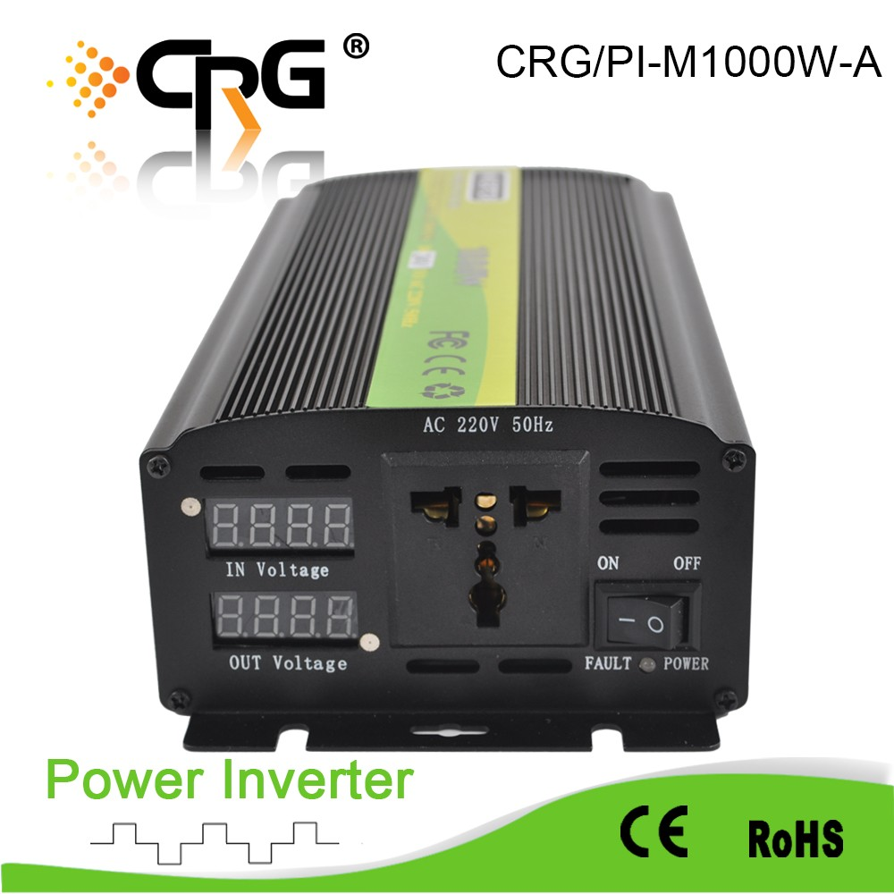CRG HOT SALE! 2500w inverter dc to ac 24V 220V solar modified sine wave power inverter