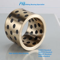 Self-lubricating oil-free bronze bearing, maintenance-free cast bronze bearing,mould die CC331G bronze bush