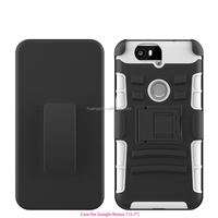 Cheap goods from china Belt Clip Holster PC Silicion Case mobile phone case for huawei nexus 6p china suppliers