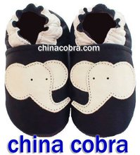 soft baby leather shoes baby shoes animal elephant