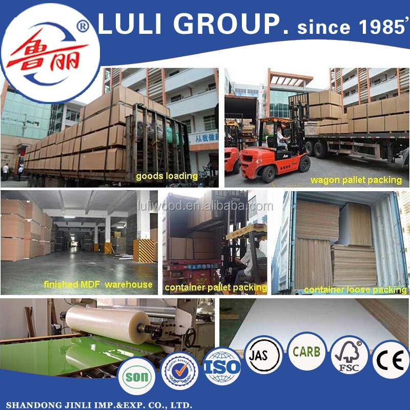 High quality with wholesale Laminated Melamine MDF