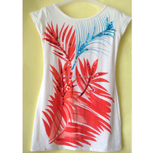 Summer fashion UV Sensitive Color Changing women's T-shirt