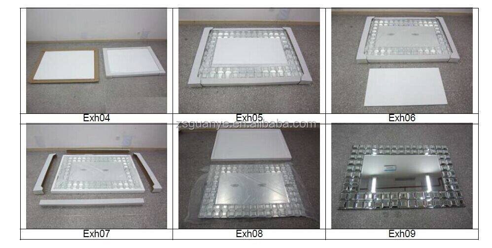 contemporary 3d decorative mirror