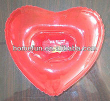 hospital inflatable heart air travel cheap promotional pillow/medical cushion