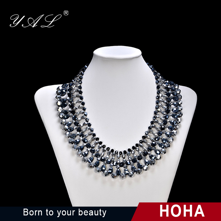 Yiwu Wholesale Market Good Quality African Neckless Jewellery