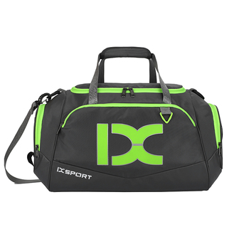 outdoor travel bags custom made duffel bag sport men wholesale overnight gym bag with shoe compartment