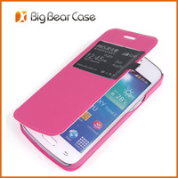 Leather flip case for samsung galaxy core plus g3500