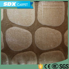 Popular Style Floral Pattern Wall To Wall Polyester Carpet Yarn With Your Own Logo