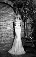 QQ3022 sweetheart fit and flare mermaid bridal dress lace plus size wedding dress China