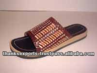Latest design slipper sandal rubber slippers and sandal