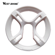 WEST BIKING Mountain Bike Chain Wheel Dental Plate Support Universal Gearwheel Cover Dual Protection MTB Bicycle Chain Wheel