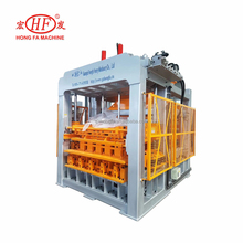 Wall building block concrete block making machine