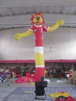 customized inflatable lion shape air dancer