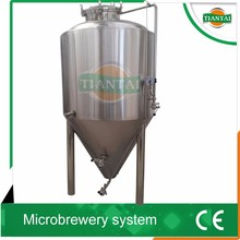 Tiantai stainless steel beer fermenter maker for sale