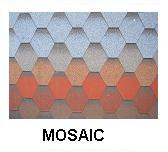 [Cheap roofing material] High quality mosaic asphalt roofing shingles prices