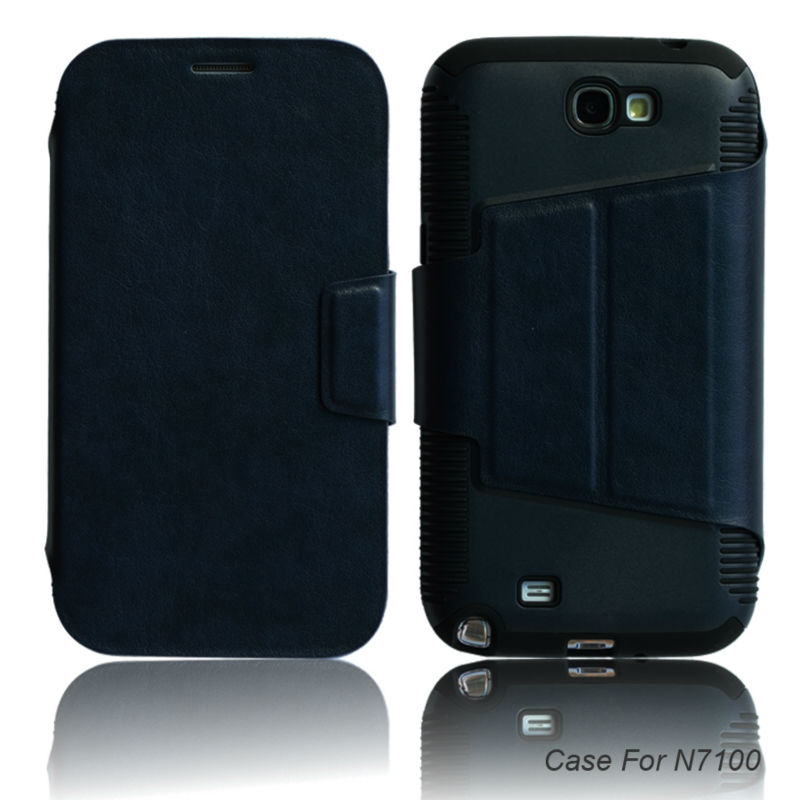 Hot selling cell phone housing case for samsung galaxy note 2 n7100