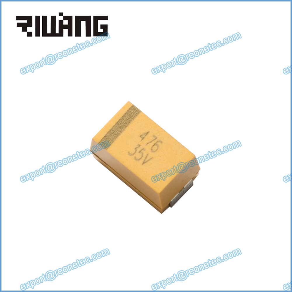 surface mount chip tantalum capacitor general purpose CA45 476