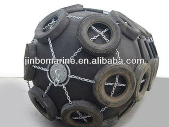High Absorption Ship Use Marine Inflatable Rubber Fender