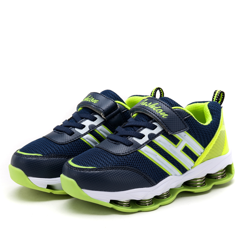 Lightweight Breathable PU Upper Material sport Shoes For Kid