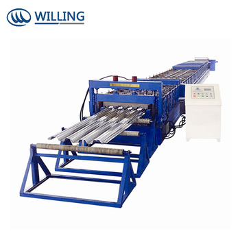 Hot Sale Metal Decking floor cold roll forming machine with high quality