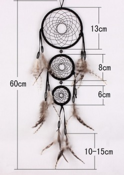 grizzly feather dream catchers MS1062