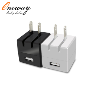 Factory Outlet US plug Folding Plug Travel Charger 5V 1.0A USB Wall Charger