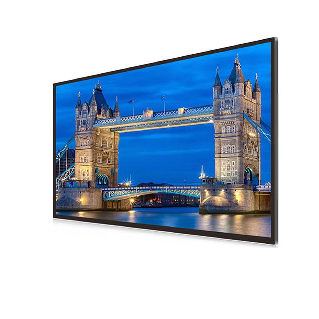 Superb 55 Inch Wall Mount Digital Signage Large Size Digital Photo Frame ...
