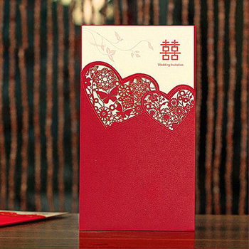 Luxury fancy paper invitation wedding card/wedding invitation card