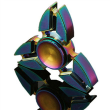 More colorful Hand Spinner - Fidget Rotating Toy - Ultra Durable High Speed Metal Bearing 1-5 Min Spins finger