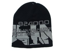 Popular high quality printing winter cool large hat for men