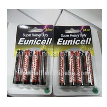Extra Long lasting carbon zinc battery 1.5v aa r6 um3