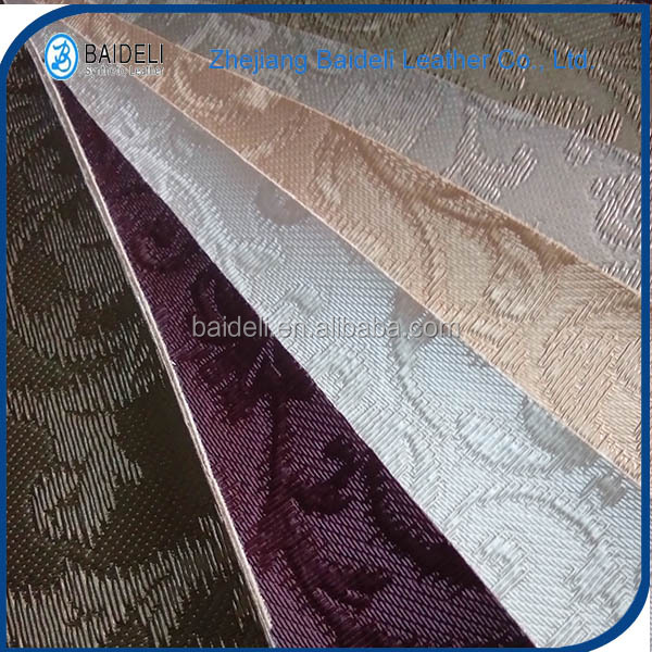 PVC PU Textiles Leather Products For