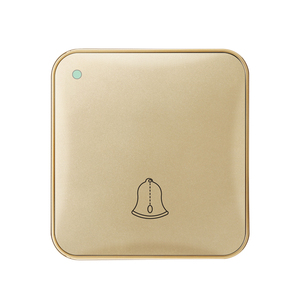 Hotel use smart waterproof doorbell switch with do not disturb
