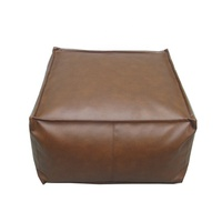 High Quality Durable Floor Cushion Leather Cushion