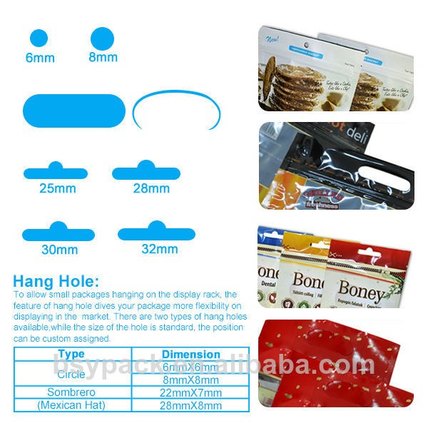 Laminated Material Food Flat Bottom Bag