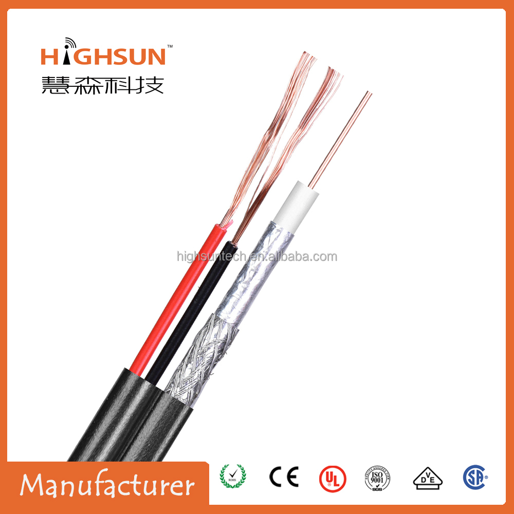 bare copper /ccs /cca coaxial cable stainless street rg59 for catv