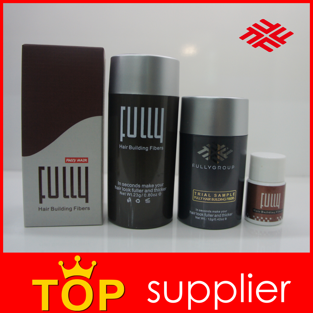 Perfect Hair Loss Solution Fully Hair Building Fibers Product