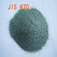 Abrasive powder green silicon carbide for polishing
