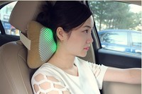 Manufacturer Smart battery operated vibrating electric shiatsu neck car head massage pillow