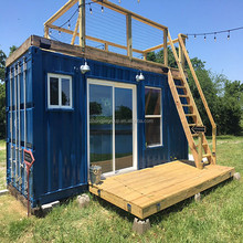 fast install and knock down steel container house for sale