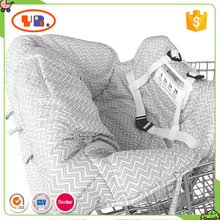 Mom Shopping Essential Baby Grocery Cart & High Chair Cover Toddler Trolley Seat Cover