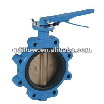 marine water valves butterfly type CI body