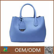 Leather PU tote bag latest design hand bags 2016 fashion tote bag