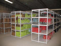 Best selling Warehouse Slotted Angle Iron Shelving System,Rivet Angle Shelving