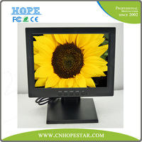 Resistive touch lcd panel 12 inch Stand Touch Screen LCD Monitor with TV and USB