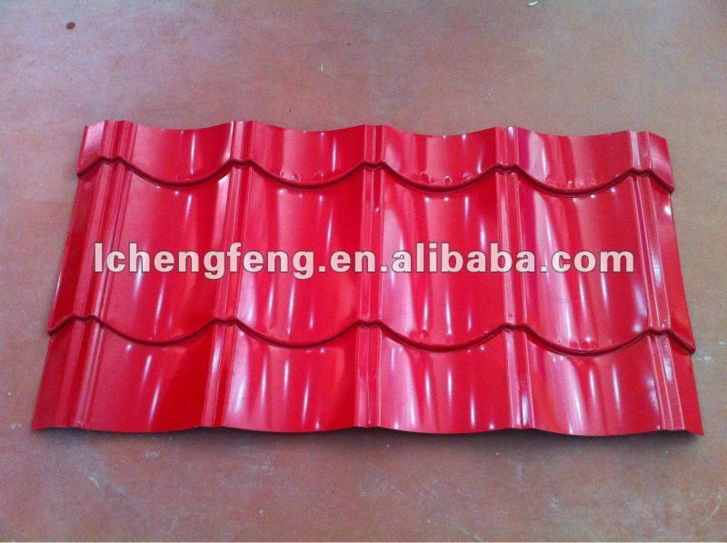 Zinc Coated Corrugated Roofing Tile/Corrugated Steel Sheet
