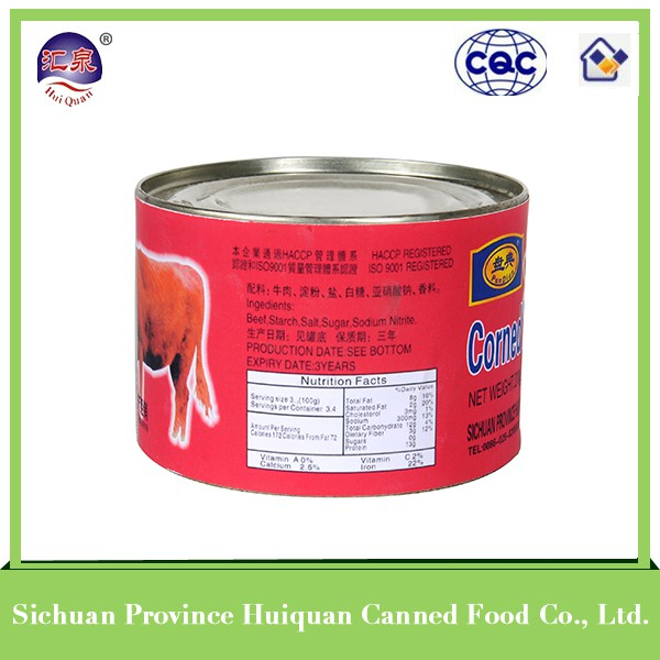 wholesale china import premium food canned beef luncheon meat
