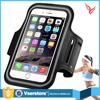Popular cheap sport jogging armband case with key pocket and earphone hole